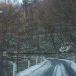 雪! 金精峠・山王峠通行注意。