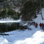 070225 雪上探検ツアー小峠