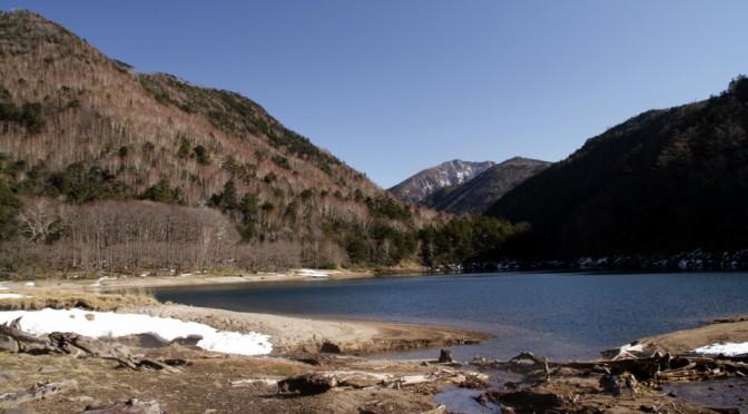 刈込湖へ様子見