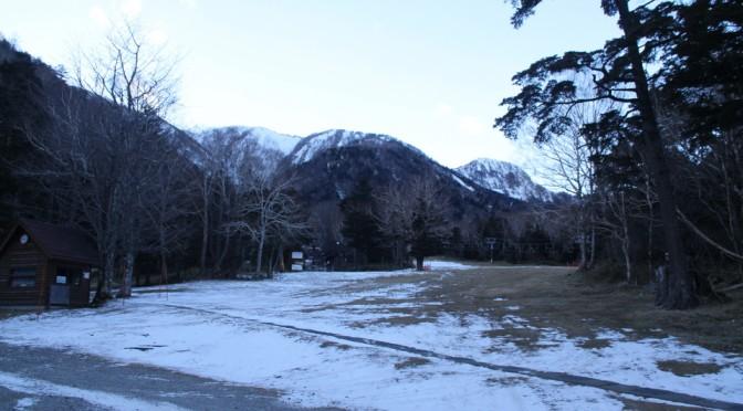 奥日光の積雪