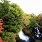 竜頭滝の紅葉見頃_16年10月11日