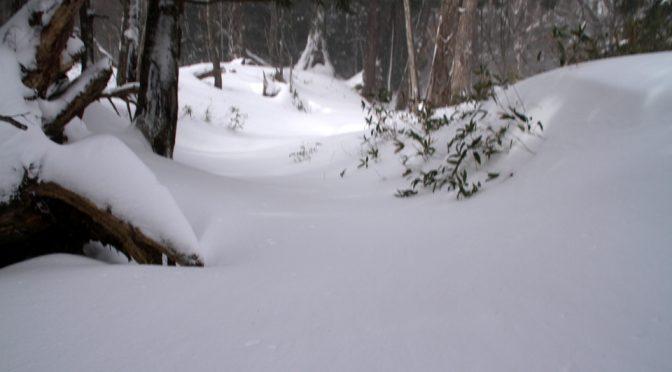凍った湯滝と竜頭滝