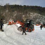 2019湯元温泉雪まつりと雪上探検