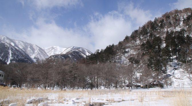 厳冬の奥日光刈込湖スノーハイク